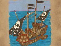 Top Shootout : The Pirate Ship